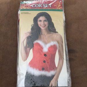 Red Santa Corset